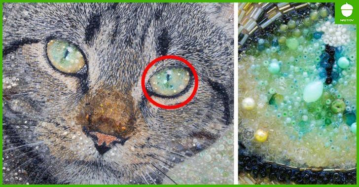 На первый взгляд это обычная картинка с котом, но присмотритесь повнимательнее…