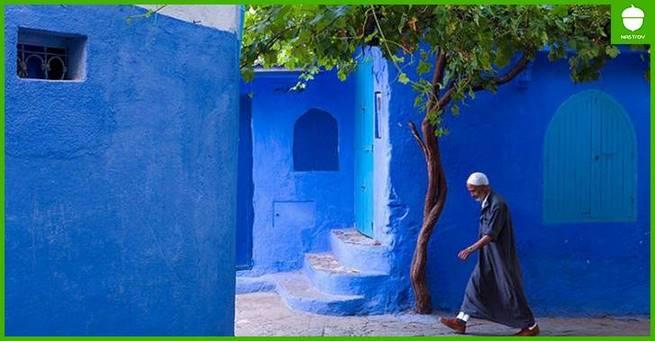 Шефшауен: синий город невероятной красоты