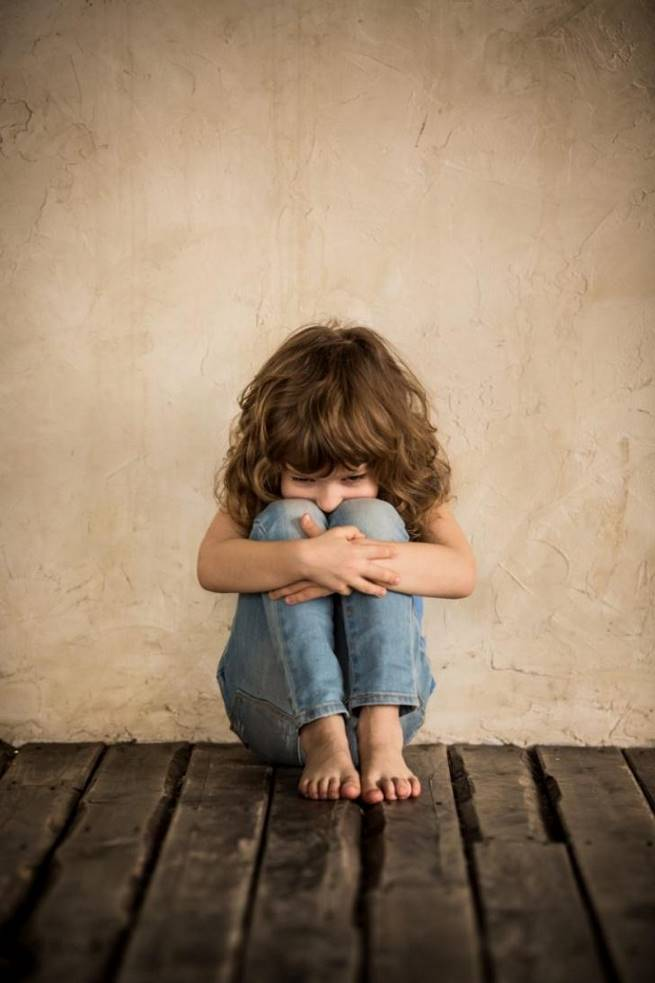 Фото с грустными детьми