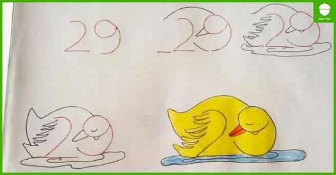 Как научить ребенка рисовать с помощью цифр