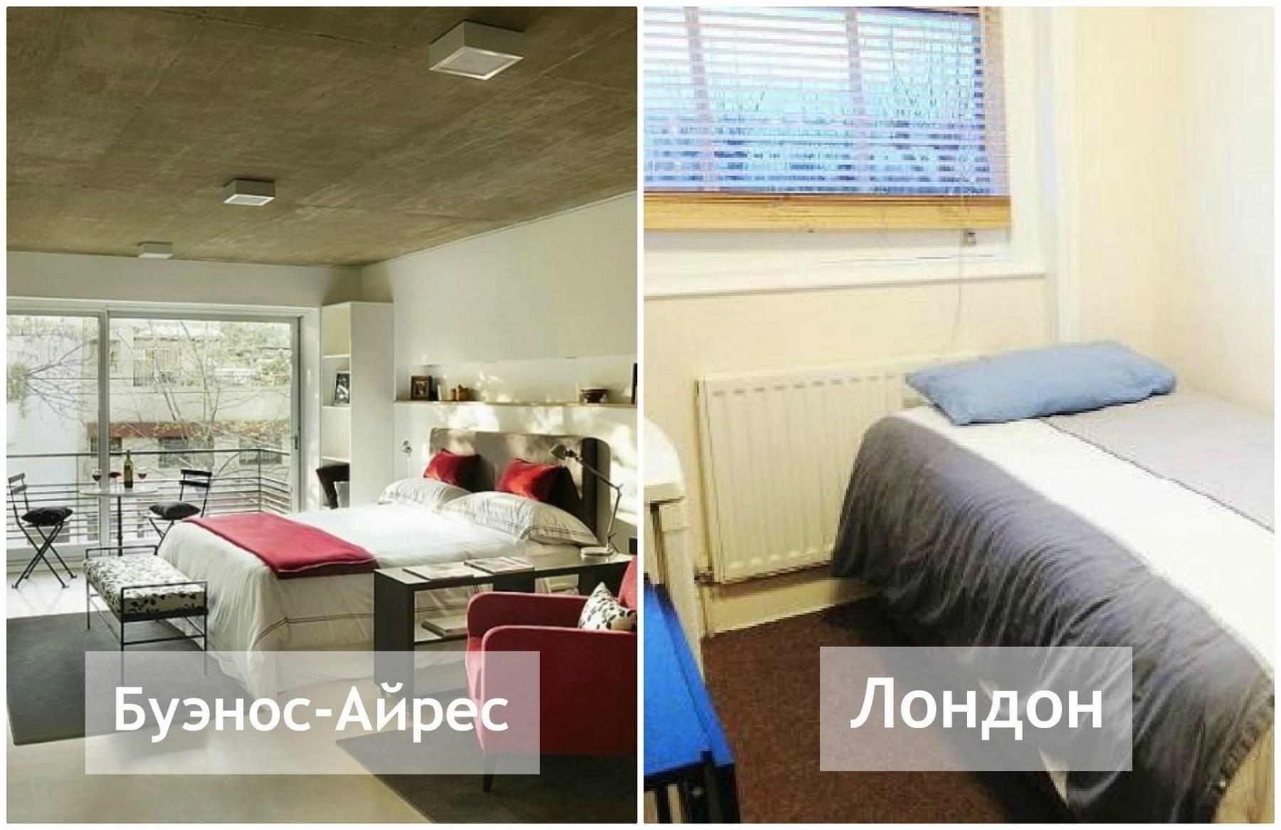 Как в разных странах мира выглядит жилье за 00 в месяц