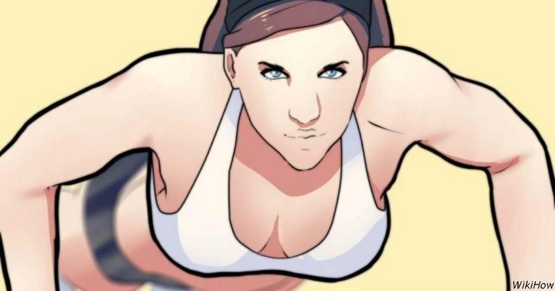 9 упражнений с побочным эффектом: они увеличивают грудь!