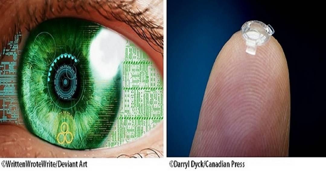 Бионические контактные линзы сделают зрение в 3 раза лучше ″единицы″. На всю жизнь!