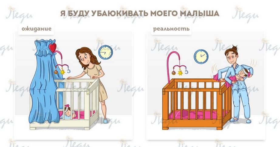 Быть Мамой — непросто: ОЖИДАНИЕ и РЕАЛЬНОСТЬ))