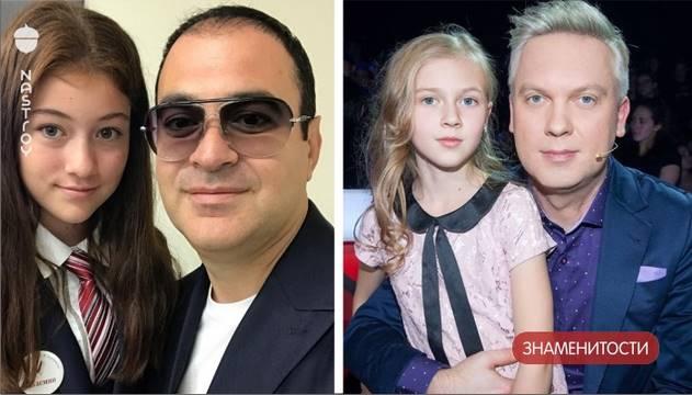 Подросшие дочери Светлакова и Мартиросяна, как и многие дети, 1 сентября вернулись в школу. Редкие фото звездных семей