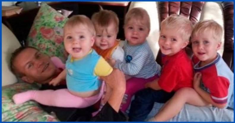 После смерти жены отец в одиночку растил 6 детей и судьба преподнесла ему сюрприз...
