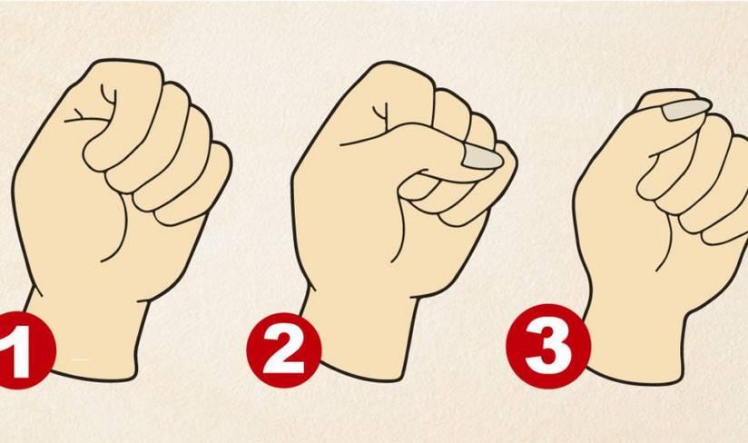 Как вы сжимаете кулак? Вот что это может рассказать о вашем характере!