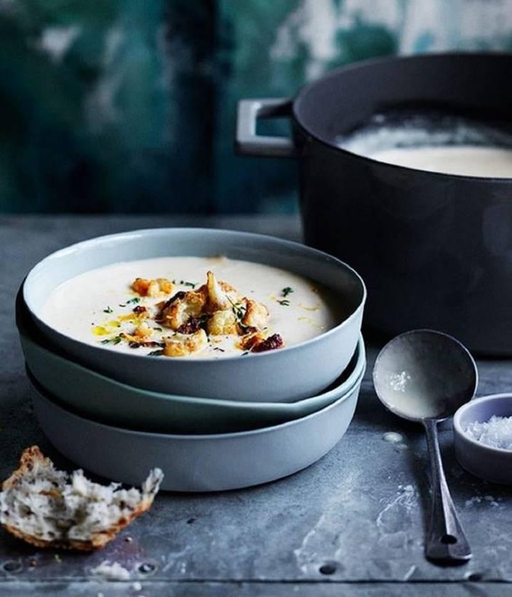 5 осенних крем супов, которые можно приготовить за 30 минут