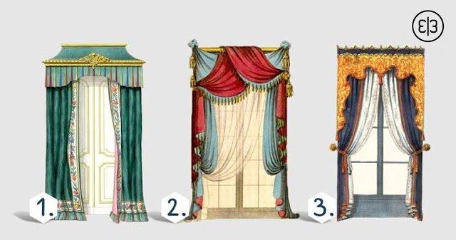 Выберите шторы и найдите свою характеристику!