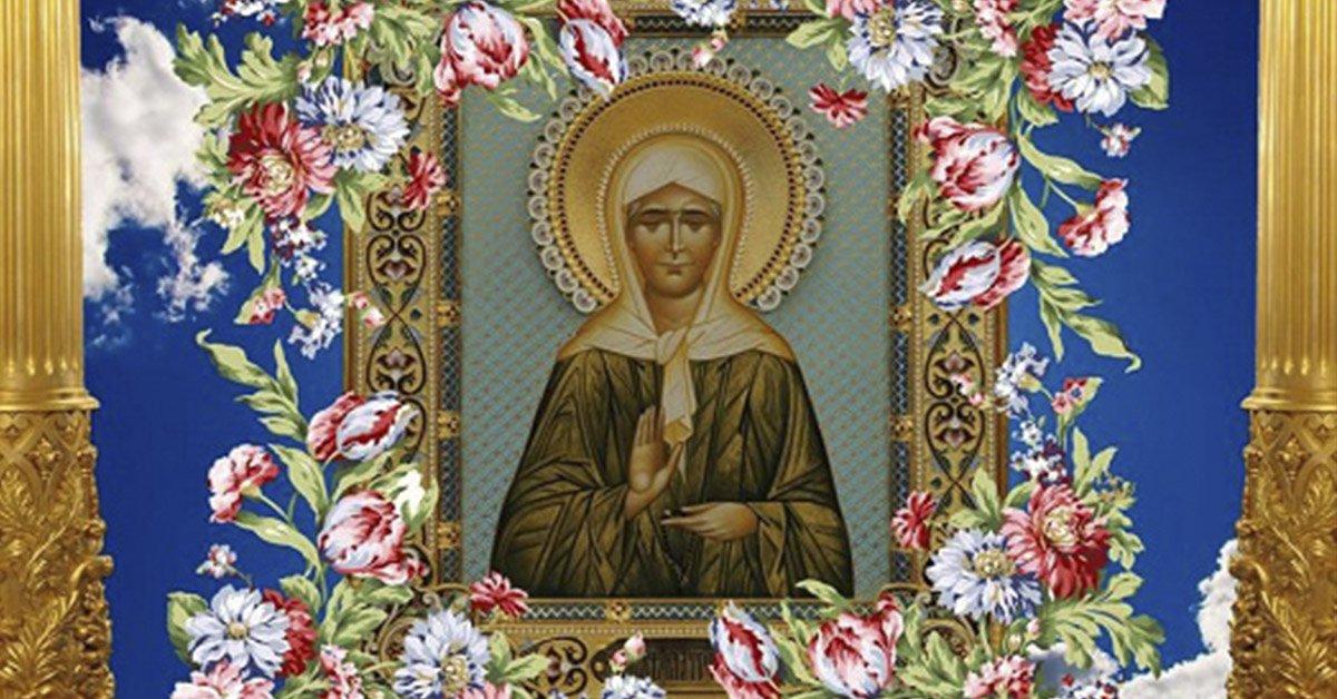 Сила иконы святой Матроны Московской