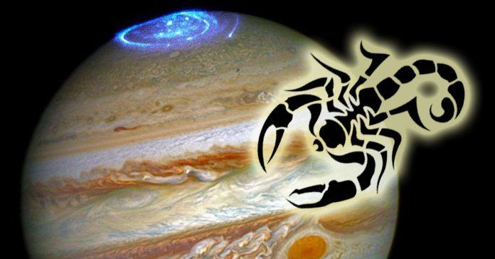 10 октября Юпитер планета везения и процветания переходит в знак Скорпиона! Начался период удач!