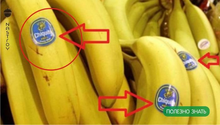 Будьте внимательны, когда покупаете бананы! Знаете ли вы, что означают эти наклейки?