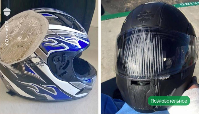 15 фотографий о том, что надевать шлем действительно очень важно