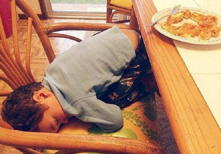 14 восхитительно спящих малышей! От № 3 захохочешь до слез!