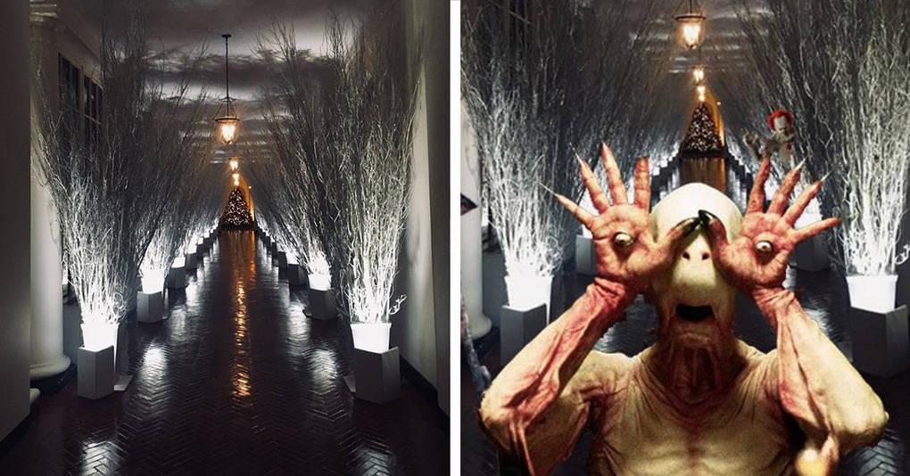 Мелания Трамп украсила Белый дом довольно странным образом, и реакция интернета не заставила себя долго ждать