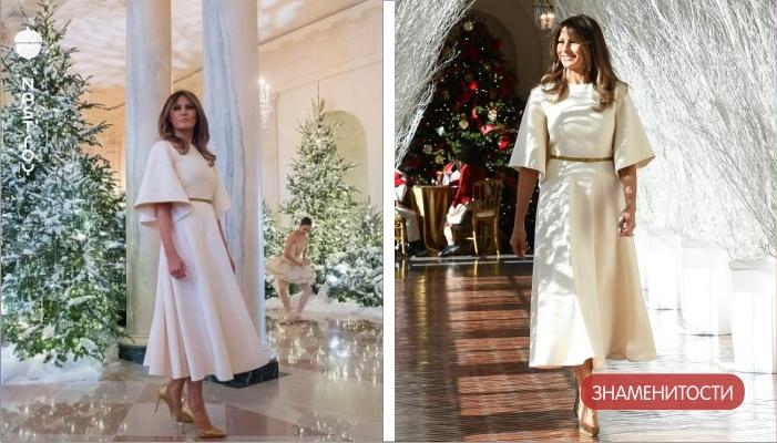 Посмотрите, во что превратила Белый дом Мелания Трамп к Рождеству!