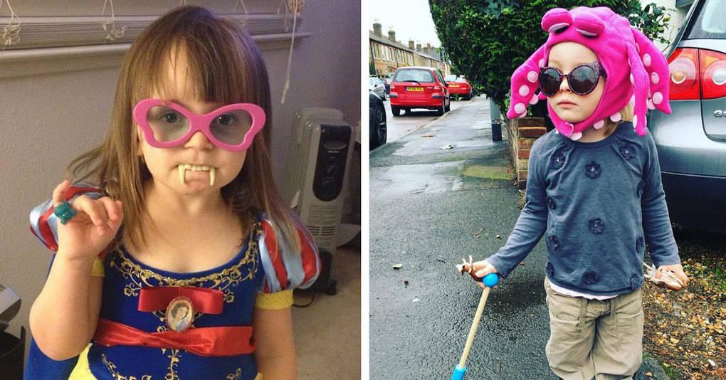 20 примеров того, что получится, если разрешить ребёнку выбрать наряд самостоятельно