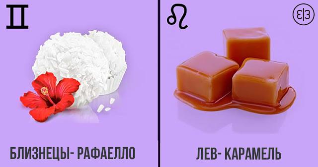 Какая ты сладость по знаку зодиака?