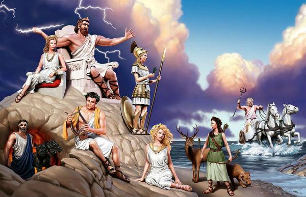 Древнегреческая мифология тест