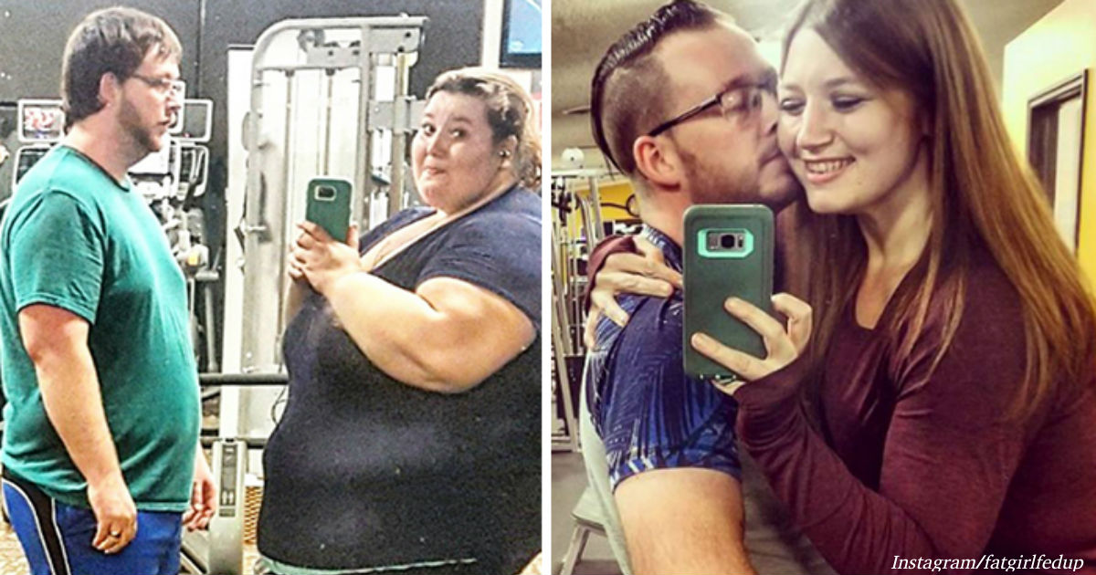 Муж и жена за год сбросили на двоих 181 кг! Потому что пообещали на Новый год...