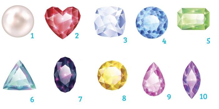 Выбери драгоценный камень, и мы расскажем, кто ты!