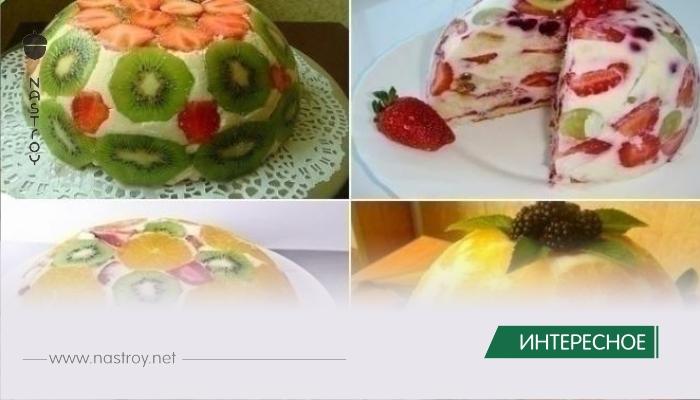 Фруктовый торт без выпечки: вкусно и очень просто