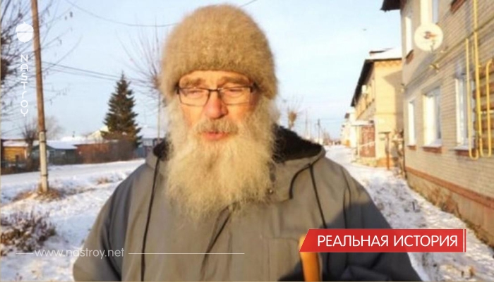 80 летний врач один работает в большом селе.