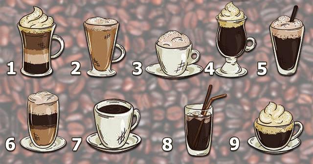 Выберите кофе и получите подсказку от вселенной!
