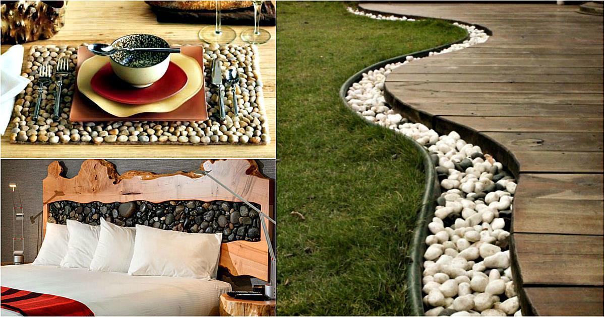 17 крутых идей использования природных камней в оформлении дома и сада