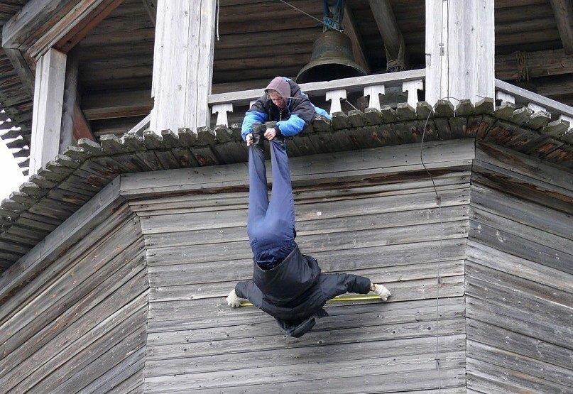 15 примеров строителей, которые не знают, что такое страх