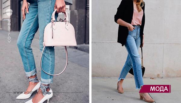 Модные цвета, принты и украшения джинсов весны 2018