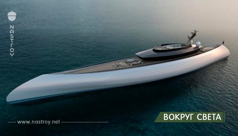 115-метровая мега яхта Tuhura от Oceanco, вдохновлённая древними каноэ!
