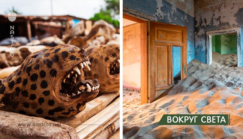 13 самых странных туристических направлений в мире!