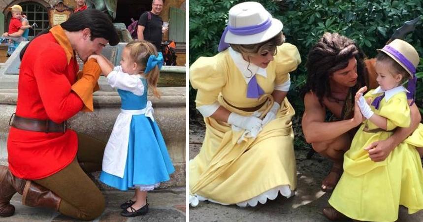 Мама шьёт для своей 3-летней дочери невероятно точные костюмы диснеевских персонажей!