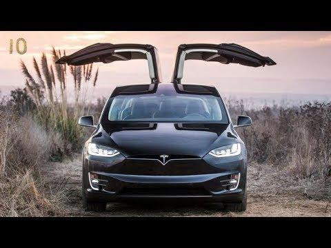 Лучшие Электроавтомобили 2018 года ТОП 10 Электрокар Автомобиль Tesla Smart Nissan Volkswagen