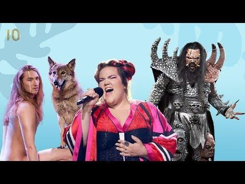 Самые Громкие Скандалы Евровидения ТОП 10 Протесты, Неожиданные Оголения и Песня о Путине