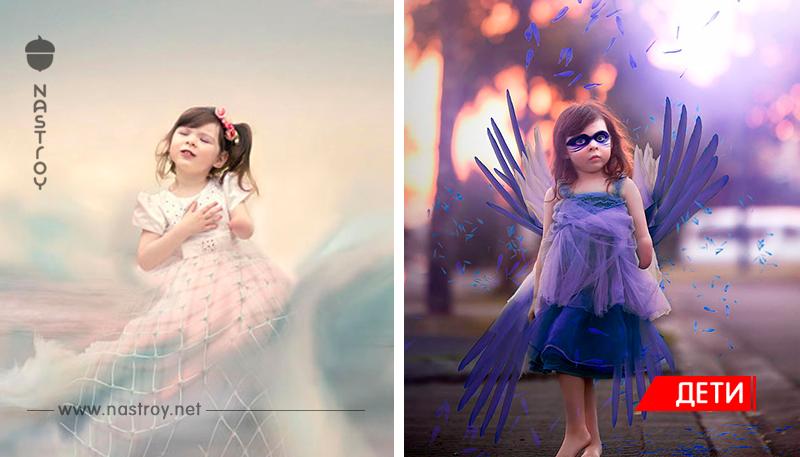 Мама сделала вдохновляющие фотографии своей однорукой дочери!