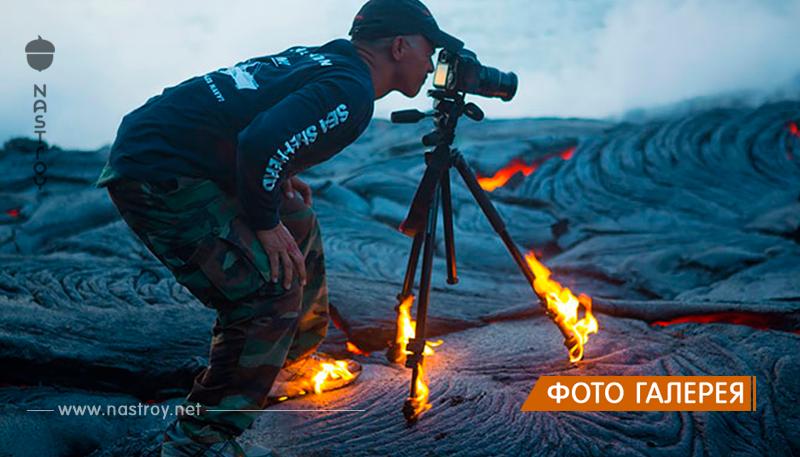 Сумасшедшие фотографы, которые готовы на все ради идеального снимка!