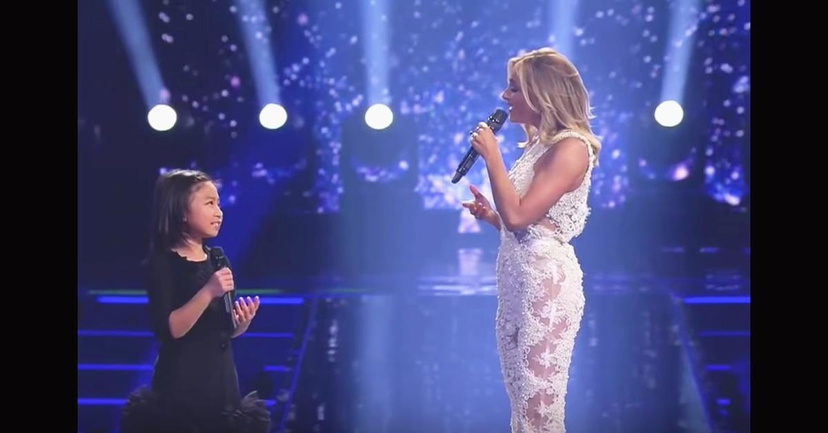 Певица-суперзвезда попросила маленькую девочку спеть с ней дуэтом. Произошло нечто великолепное!
