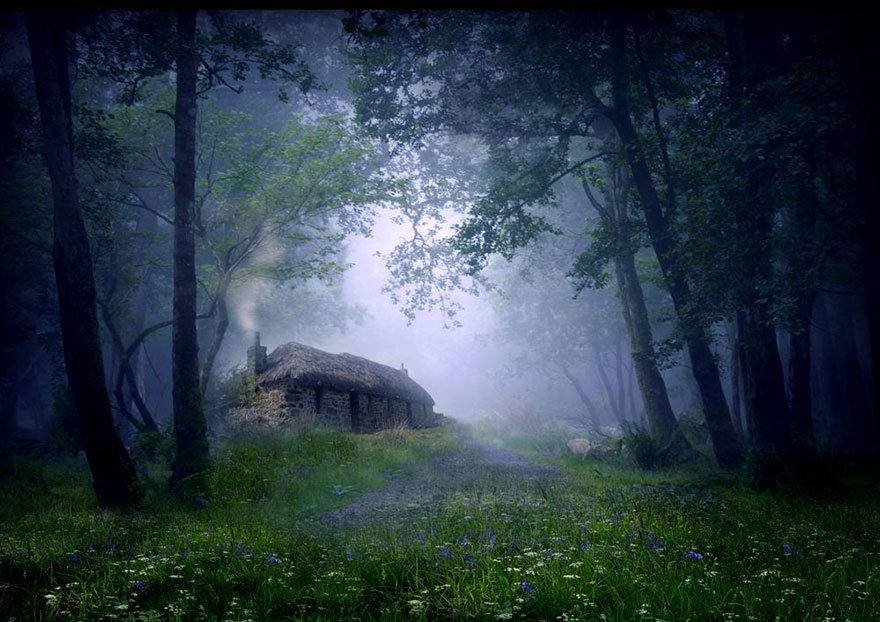 Маленькие одинокие дома для одиноких людей!