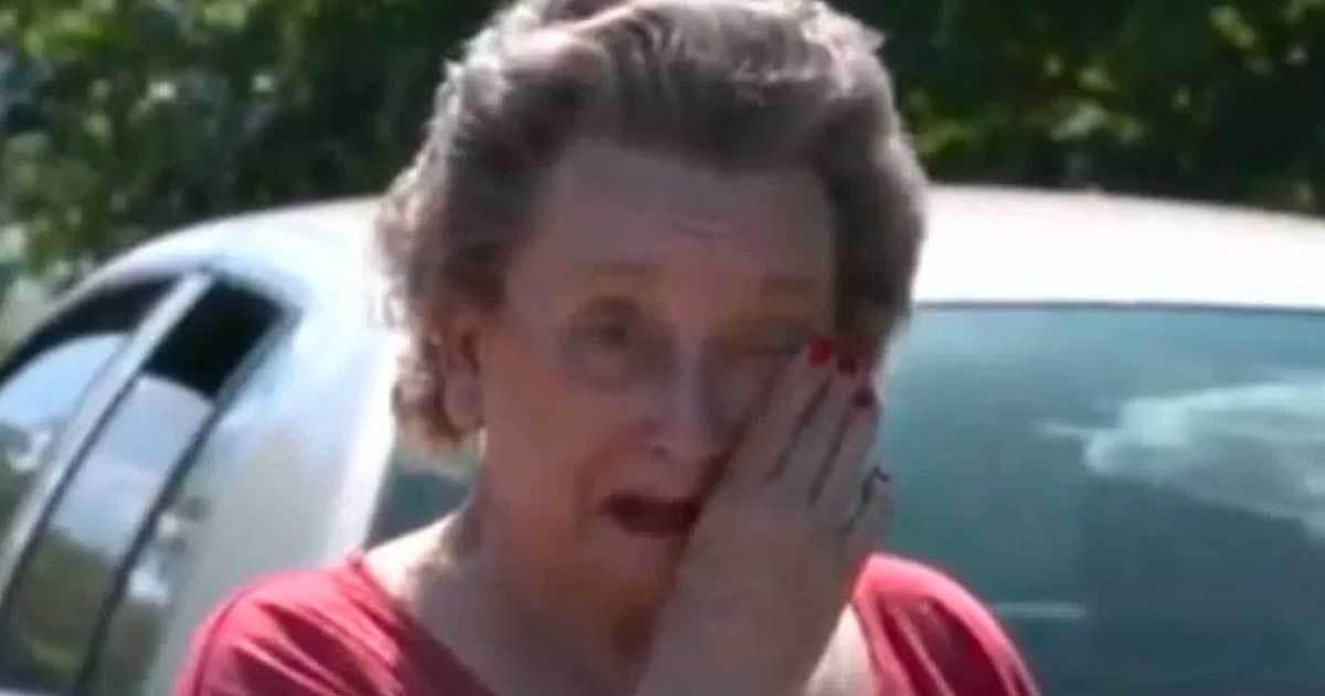 4 мальчика пробрались во двор к 75-летней женщине. Когда она поймала их на горячем, на её глаза навернулись слёзы!