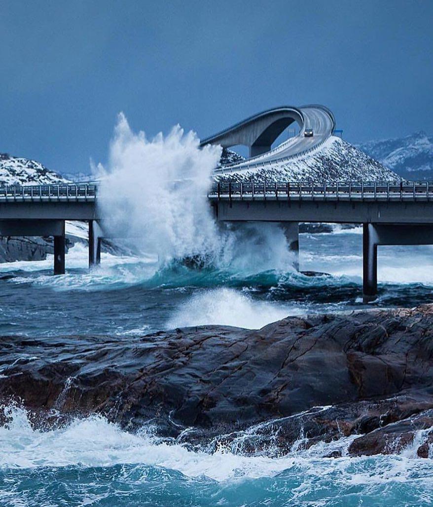 атлантическая дорога в норвегии фото первую очередь загрузите