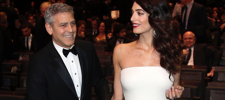 Джордж Клуни с женой построили школы для 3000 сирийских детей Беженцы смогут учиться в Ливане!