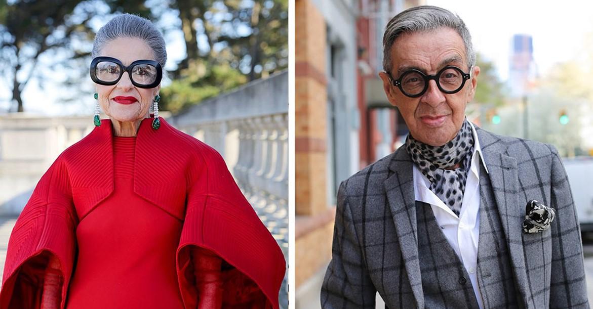 Фото стильных пожилых людей доказывают, что возраст - это просто число!