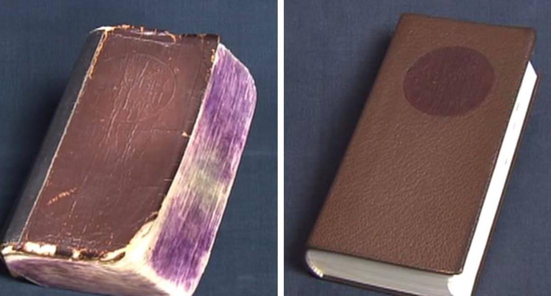 Японский реставратор заставляет старые книги выглядеть, как новые!