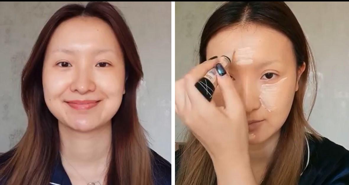 китаянка превращается видео разбирая