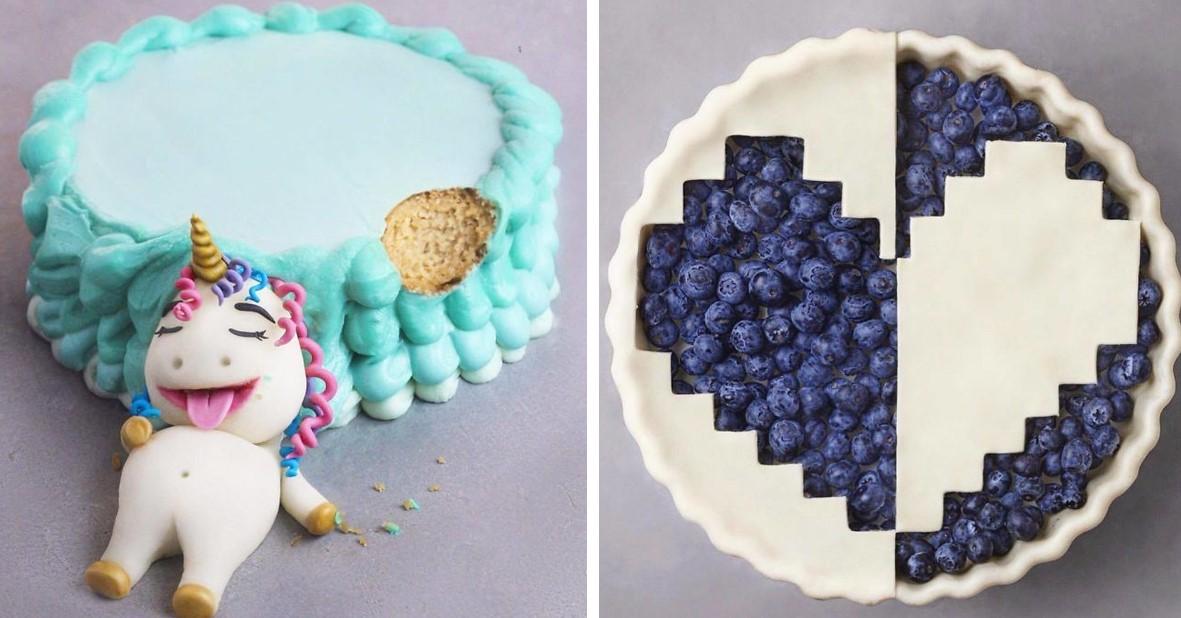 16-летний Веган продолжает удивлять Instagram-поклонников своими потрясающими десертами!