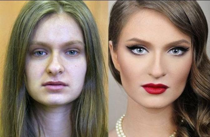 Преображения при помощи макияжа, доказывающие, что каждая женщина — голливудская звезда!