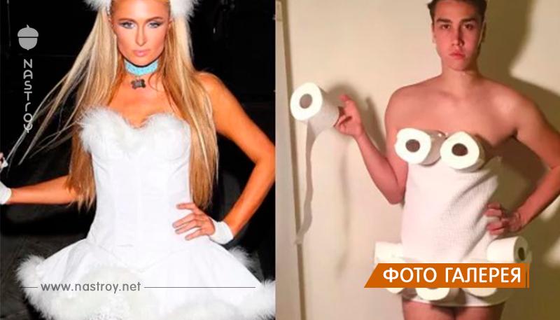 Платье из картона и волосы из маркеров. Блогер воссоздаёт наряды знаменитостей из всего, что попалось под руку!