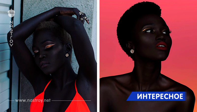 Встречайте «Королеву тьмы»: Модель из Судана покорила мир невероятно темным цветом кожи!